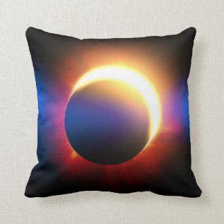 Solar Eclipse Throw Pillows