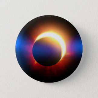 Solar Eclipse Pinback Button