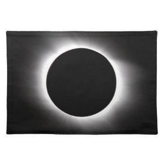 Solar eclipse placemat