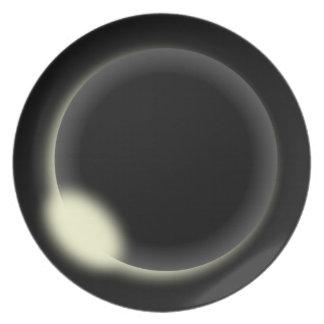 Solar Eclipse Plate