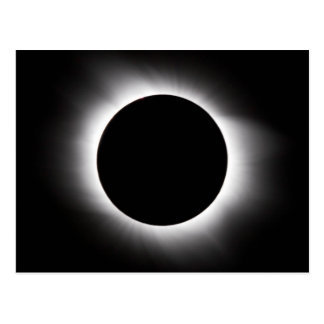 Solar eclipse postcard