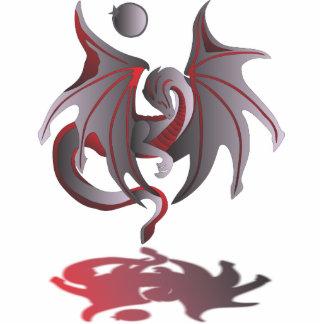 Solar Eclipse (Ruby Red Dragon) Statuette