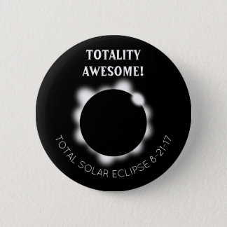 Solar Eclipse Totality Awesome Button