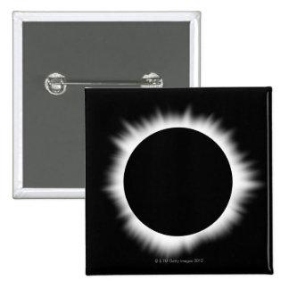 Solar Eclipse with Corona Button