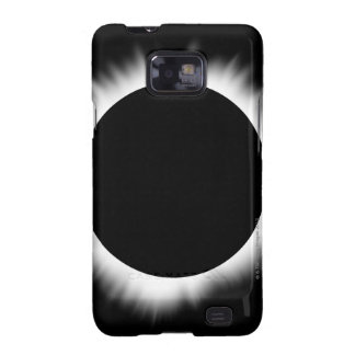 Solar Eclipse with Corona Samsung Galaxy SII Cases