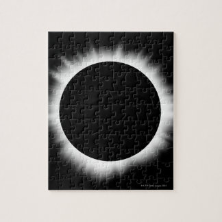 Solar Eclipse with Corona Jigsaw Puzzle