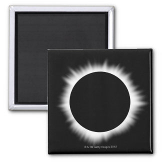 Solar Eclipse with Corona Magnet