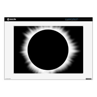 """Solar Eclipse with Corona Skins For 15"""" Laptops"""
