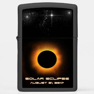 Solar Eclipse Zippo Lighter