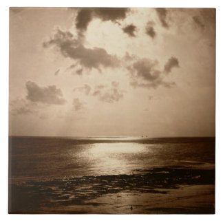 Solar Effect - Ocean, 1857 (albumen print from a c Ceramic Tile