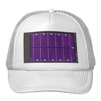 solar electric panel trucker hat