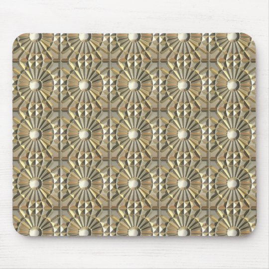 Solar Embossed Metals Mouse Pad