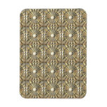 Solar Embossed Metals Rectangle Magnets