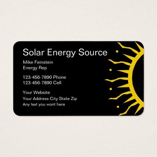 Solar energy business cards zazzle solar energy business cards colourmoves Image collections