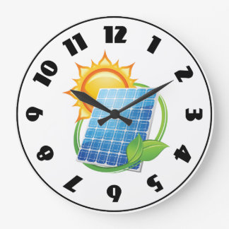 Solar Energy Clock