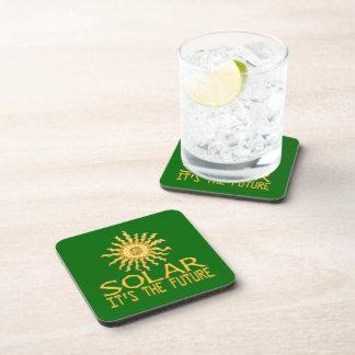 Solar Energy Beverage Coasters