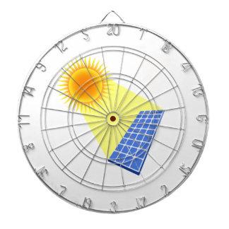 Solar Energy Dart Board