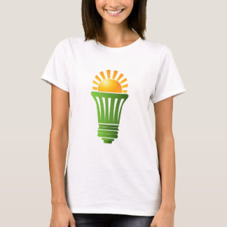 Solar Energy Efficient Lightbulb T-Shirt