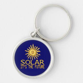 Solar Energy Future Keychain