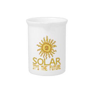 Solar Energy Future Drink Pitchers