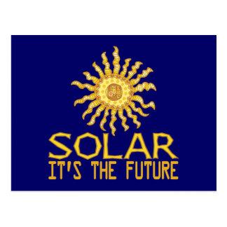 Solar Energy Future Postcard
