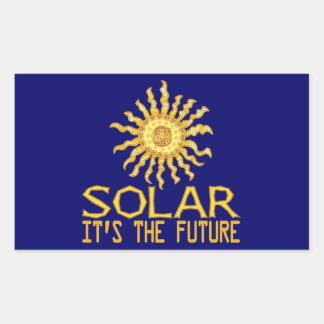 Solar Energy Future Sticker