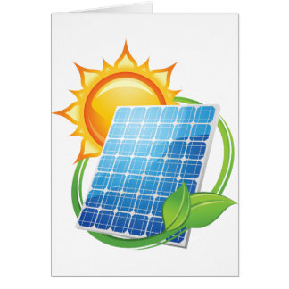 Solar Energy Greeting Cards