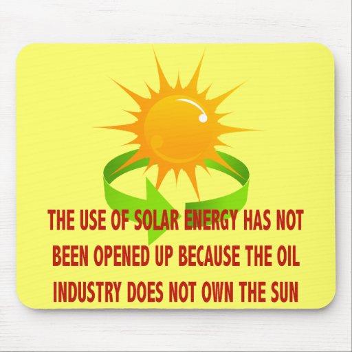 SOLAR ENERGY MOUSE PAD