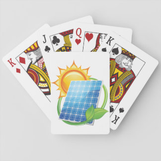 Solar Energy Playing Cards