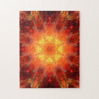 Solar Energy Portal Mandala Jigsaw Puzzle