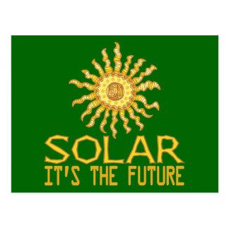 Solar Energy Postcard