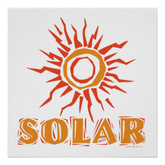 . Solar Energy Poster