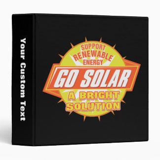 Solar Energy Solution 3 Ring Binder