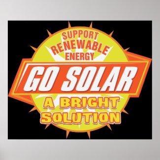Solar Energy Solution Poster