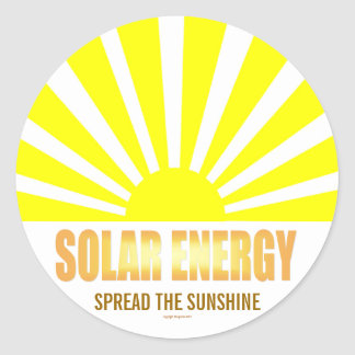 Solar Energy Spread the Sunshine Sticker