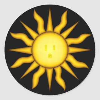 Solar Energy Sticker