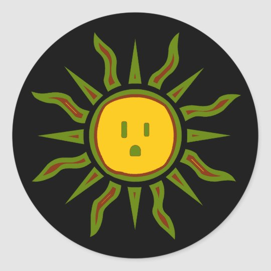 Solar Energy Sticker