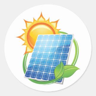 Solar Energy Stickers