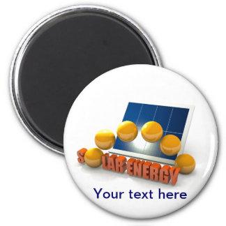 Solar Energy theme Magnet