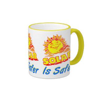 Solar es una taza de café la sonrisa más segura de