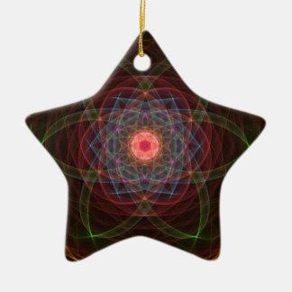Solar Event Ceramic Ornament