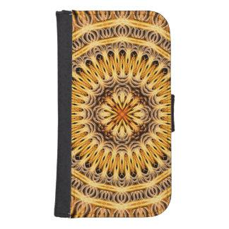 Solar Expansion Mandala Galaxy S4 Wallet Case