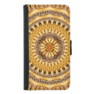 Solar Expansion Mandala Wallet Phone Case For Samsung Galaxy S5