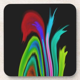 Solar Flames Coasters