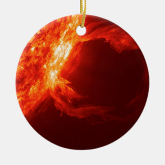 SOLAR FLARE 1 CERAMIC ORNAMENT