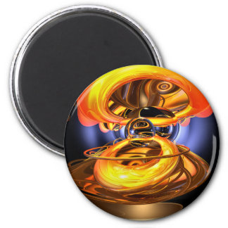 Solar Flare Abstract Magnet
