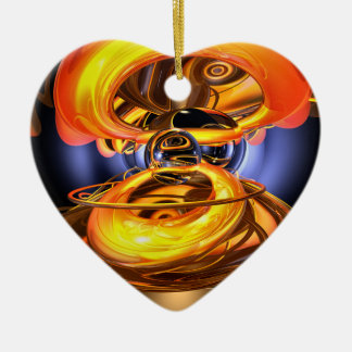 Solar Flare Abstract Ornament