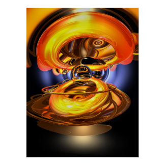 Solar Flare Abstract Poster