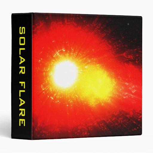Solar Flare Binder
