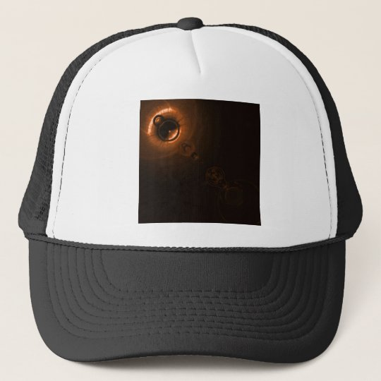Solar flare Copper Trucker Hat